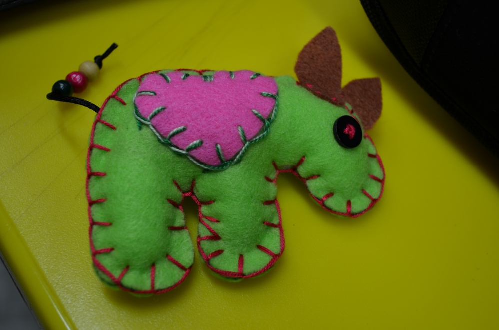 Sewing the seeds of kindness....World Animal Day 2011 (2/6)