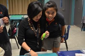An inspiring mentor, Ms Ong