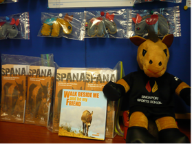 Sewing the seeds of kindness....World Animal Day 2011 (3/6)