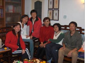 In Suzhou, house visit