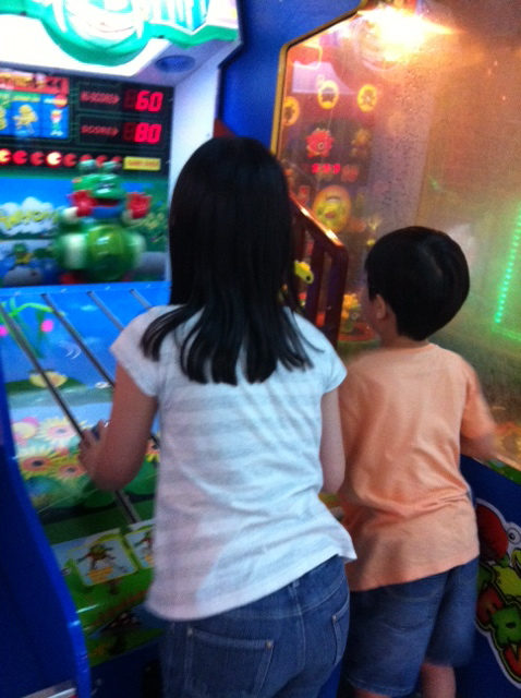 Joy and Jeremy at Arcade
