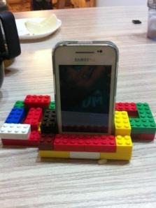 iphone on lego