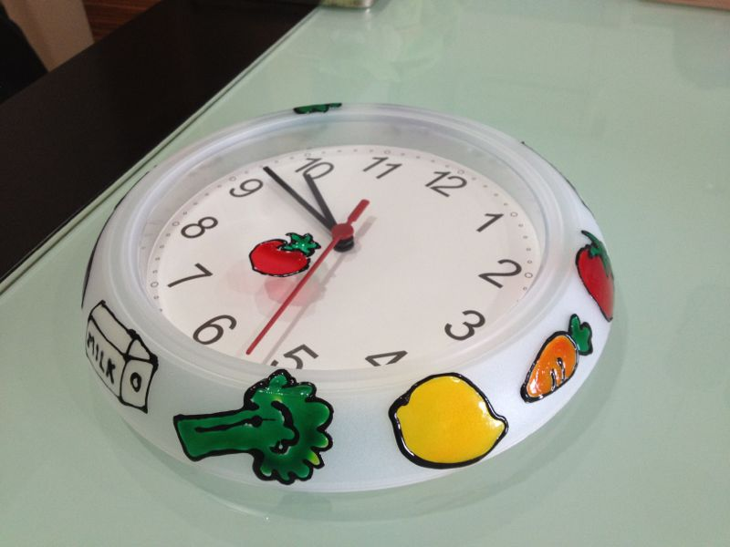 Fruity Clock