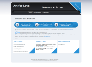 A gallery to showcase art pieces by our contributors
